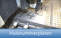 Huisnummerplaten